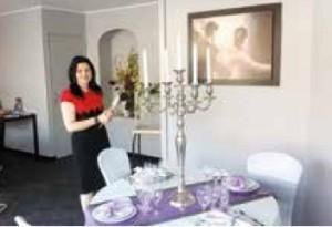 Après avoir séduit d'innombrables familles pour leurs événements, Sandra Rohaut mise à présent sur les entreprises pour développer le traiteur Au Régal d'Amiens.