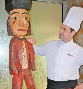 Ghislain Battaglia, co-fondateur et chef du nouveau restaurant amiénois Chez Lafleur.