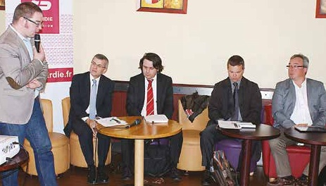 Le journaliste Guillaume Roussange recevait Alain Savary, Xavier Arruego, Sylvain Carpentier et Benoît Egon autour du thème du machinisme agricole.