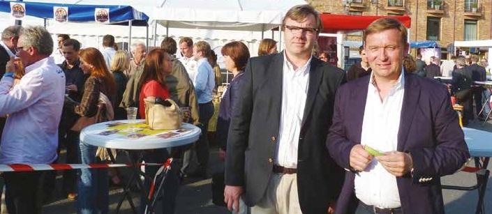 Les deux instigateurs des vendredis de l'entreprise : Frédéric Rossel et Régis Carrette.