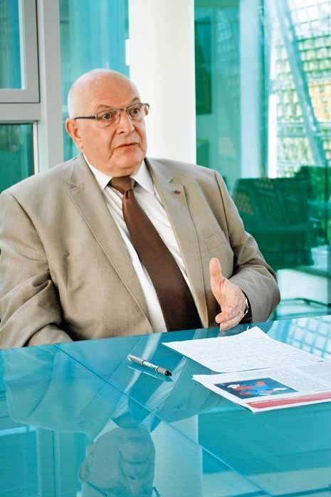 Jacky Lebrun, président de la CCI Picardie, s'exprime sur les réformes fiscales et territoriales.