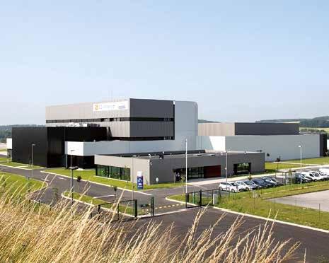 La nouvelle usine de DS-France de 10 200 m2 sur trois niveaux vient d'être inaugurée à Moreuil.