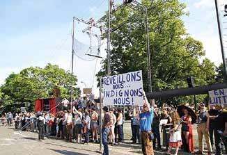 Partout en Picardie, intermittents et représentants des organisations professionnelles se mobilisent.