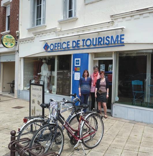 Les trois guides de l'office de tourisme Haute-Somme.