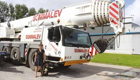 L'entreprise Sommalev est en plein boom.