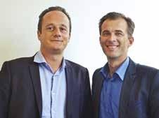 Laurent Aimon (à d.) et Thomas Henno (à g.) unissent leurs clubs le temps d'une soirée.