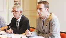 Marc Desjardins, vice-président par interim de la section Somme, et Sébastien Carton, président de l'union régionale de Picardie.