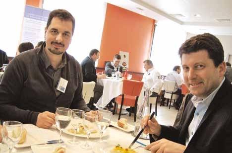 Christophe Duprez et Nicolas Chauveau, du restaurant le Quai à Amiens.