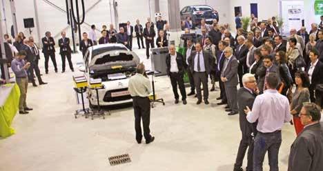 L'atelier automobile du CFA est adapté aux évolutions technologiques de ce secteur.