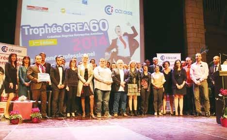 Les 51 candidats et les partenaires de cet événement.