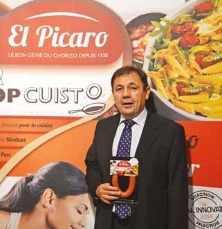 Jean-Louis Jouvin a lancé sa propre marque de chorizo El Picaro.
