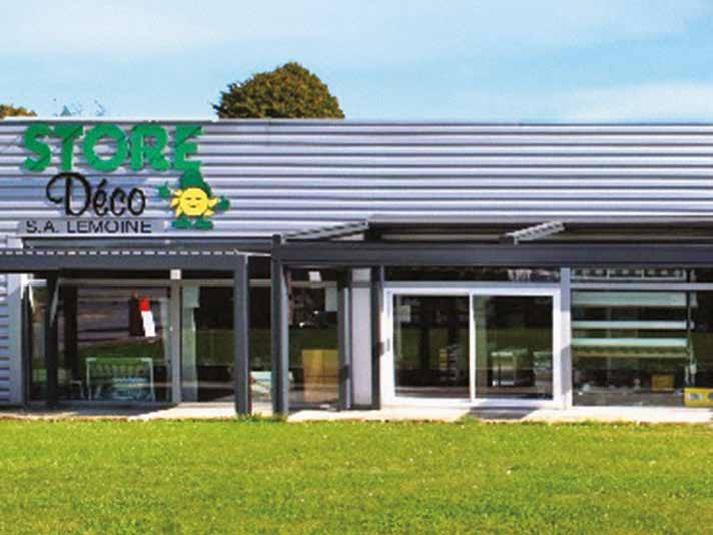 Le siège de Store Déco (à Saint-Quentin), où se trouvent également l'atelier de fabrication et le showroom.