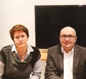 Éric Denis et Florence Liénart sont go-gérants de PJD audiovisuel depuis 2003.