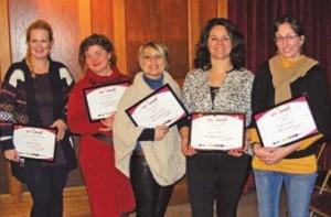 Le 8 décembre à Compiègne, les lauréates ont reçu chacune un prix de 1 500 euros en présence des organisateurs du concours.