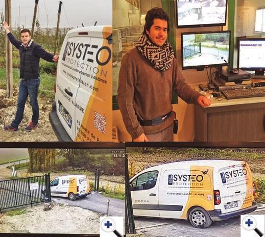 Maxence Bonduelle s'est entouré de deux personnes pour assurer un service optimal à sa clientèle essentiellement composée de professionnels.
