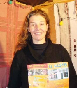 Delphine Hattif était présente au marché de Noël de Noyon, où elle proposait du chaud et du froid.