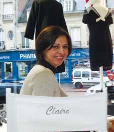 Le sourire de Claire trahit son envie de persévérer, en mars prochain.