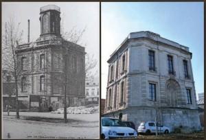 À Amiens, le château d'eau qui abrite aujourd'hui le Service des eaux d'Amiens Métropole a été construit entre 1751 et 1758.