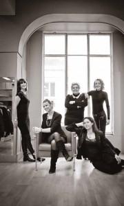 L'équipe de Galeries Lafayette à Beauvais dans l'objectif d'Anne-Lise Larcher.