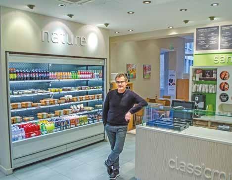 Pierre Dujardin aime à rappeler que dans sa boutique, il propose des produits de saison.