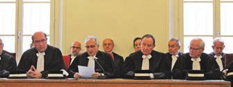 Trois nouveaux juges ont été nommés à Compiègne.