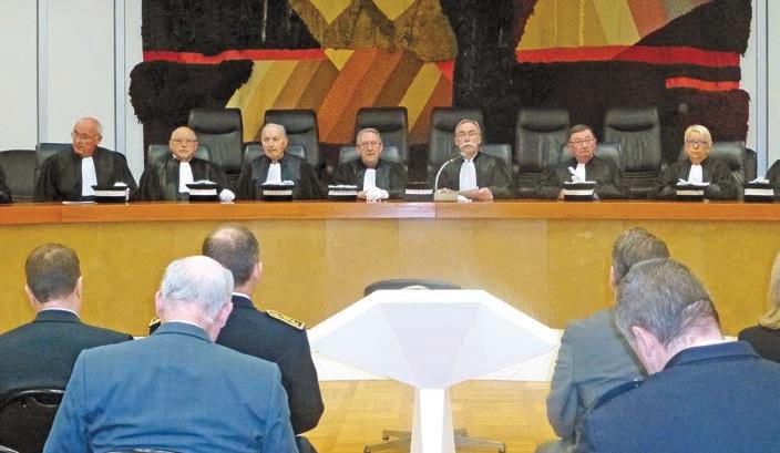Le Tribunal de Beauvais s'est réuni le 19 janvier pour son audience solennelle de rentrée.