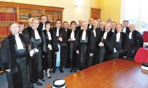 Tout au long de l'année, les juges du Tribunal de Commerce traitent les affaires avec diligence et impartialité pour le plus grand bien des entreprises et des salariés.