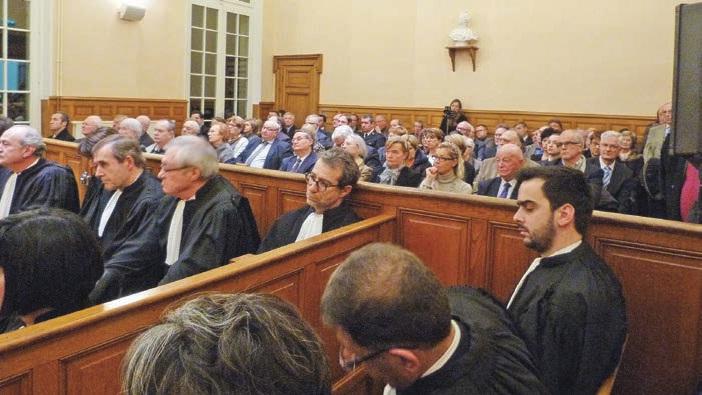Chaque année, l'audience solennelle accueille un nombre important de personnalités civiles, militaires et religieuses.