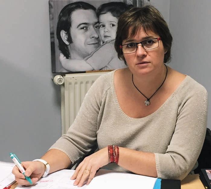 Céline Decocq-Wynsberghe est aujourd'hui cogérante de la société avec son mari.
