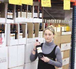 Le rayon vin est une des forces de l'enseigne.