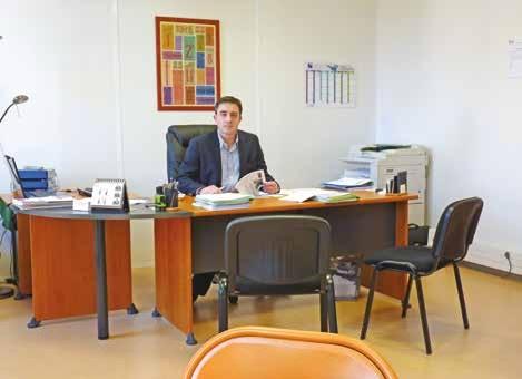 Arnaud Lenglet accueillera un nouveau collaborateur au cours de l'année 2015