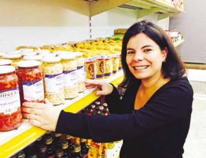 Christiane Da Silva Ferreira a créé Ô Maravilha, un commerce alimentaire portugais.