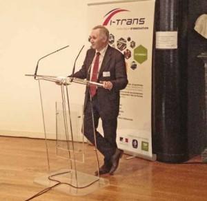 Jean-Marie Delbecq, président d'I-Trans, s'est dit « fier de présenter des résultats concrets ».