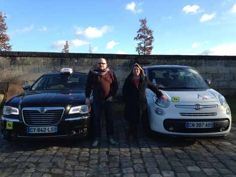 José Rivero et Véronique Dehent innovent en matière de transport.