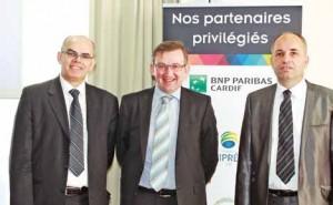 Bruno Chrétien, Frédéric Tilly et Dominique Caron ont un sourire de façade…