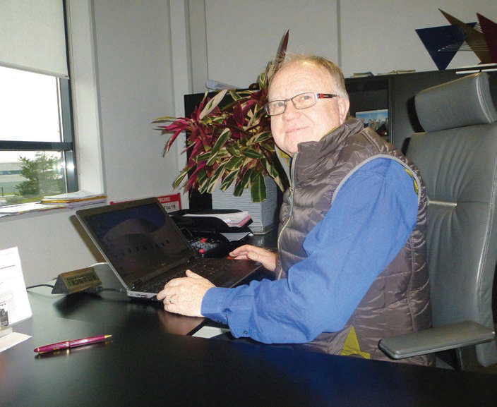 Marcel Verfaillie, ancien directeur d'Auchan à La Croix-Saint-Ouen, maintenant à la retraite, se dit aujourd'hui révolté par la nouvelle taxation étatique.