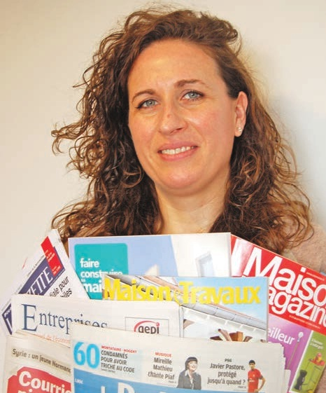 Peggy Bailly a lancé Echopresse en mars 2010.