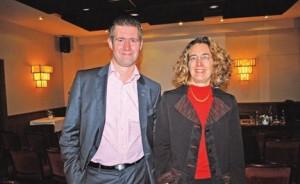 Armelle Bellenger, directrice juridique et fiscal chez PwC et David Guillemetz, associé PwC Services aux entrepreneurs.