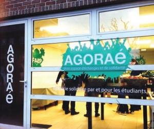 L'accueil d'Agoraé est assuré par une dizaine d'étudiants bénévoles.