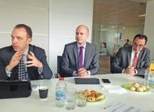 (De g. à d.) Laurent Roubin, Michaël Kervran et Pascal Brian sont optimistes pour 2015.