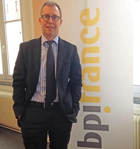 Christophe Langlet est directeur régional de BPI France.