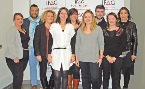 Toute l'équipe du Campus Amiens, co-organisatrice de ce premier Positive Day.