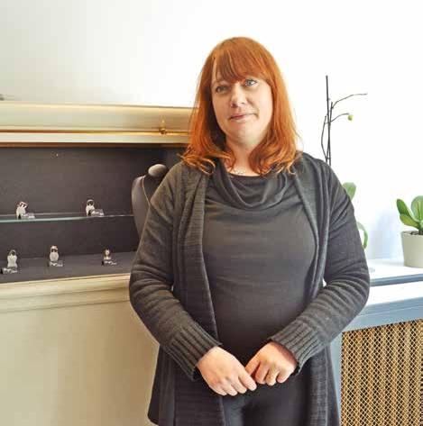 Sophie Blanger a ouvert sa bijouterie en octobre dernier.