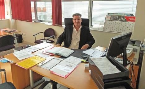 Patrick Greco, gérant de la société Euro Commerce 60.