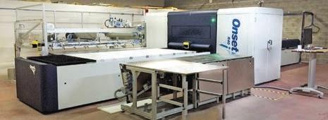 La nouvelle imprimante numérique UV Onset R4Oi.