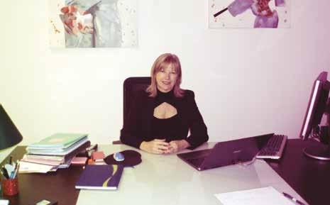 C'est dans son bureau, au sein de la pépinière d'entreprises du parc Gouraud à Soissons, que Sonia Soilly reçoit ses clients.