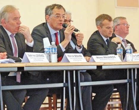 Rémi Pauvros, député du Nord, a assuré que ce projet sera une opportunité économique pour le Pays Noyonais.