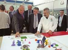 Les élus du territoire ont découvert un nouvel espace dédié à l'innovation.