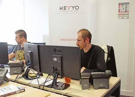 Keyyo est un partenaire privilégié des PME et des TPE.