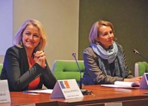 Barbara Pompili, à gauche, et Anne Pinon subissent de nombreux préjugés.